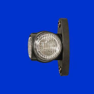12V LED Begrenzungsleuchte Superpoint Festanbau, Klarglasoptik, weiss, rot, gelb – Bild 1
