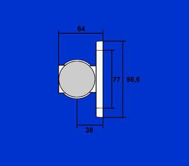 12V LED Begrenzungsleuchte Superpoint Festanbau, Klarglasoptik, weiss, rot, gelb – Bild 2