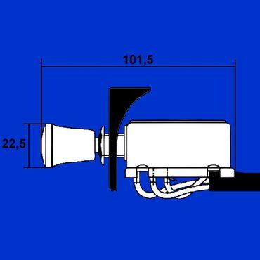 Hella Warnblinkanlage, Warnblinker univ für alle Fahrzeuge mit 12V 6HD 002 535-031 – Bild 2