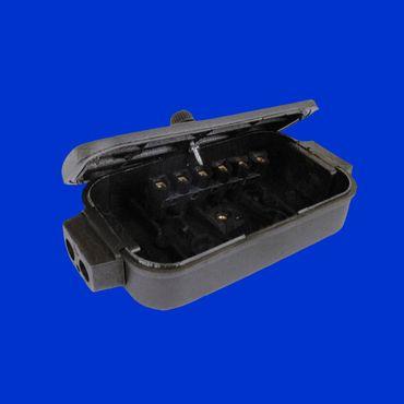 6-polige Kabelverbinderdose mit Schraubanschluss Leitungen bis 6 mm² = Ø 4,3 mm – Bild 1