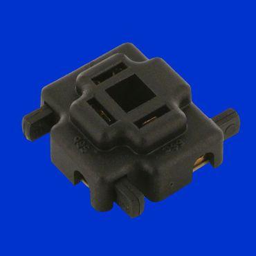 Hella Steckgehäuse, Stecker für Glühbirnen, Bilux und H4,  3 polig, bis 2,5 qmm