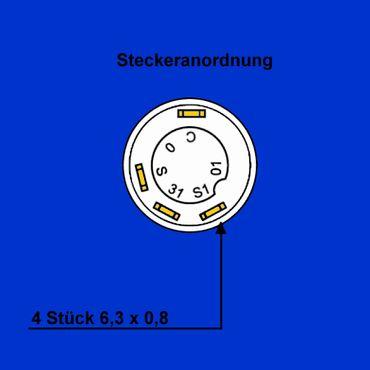 Schalter Druckschalter Rundumleuchte Blinklicht gelb für Fendt, X830240082000  – Bild 3