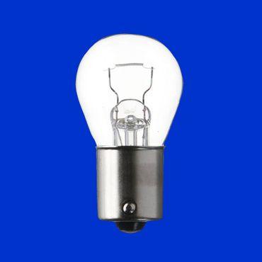 10 Stück Birne 12V, 21W, Sockel BA15S für Blinker, Blinklicht, Glühlampe, Lampe, Glühbirne – Bild 1