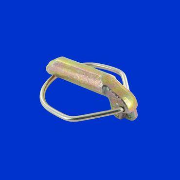 Klappstecker D 15 mm für Kat III Fangschalen, Klappsplint, Sicherungssplint – Bild 2