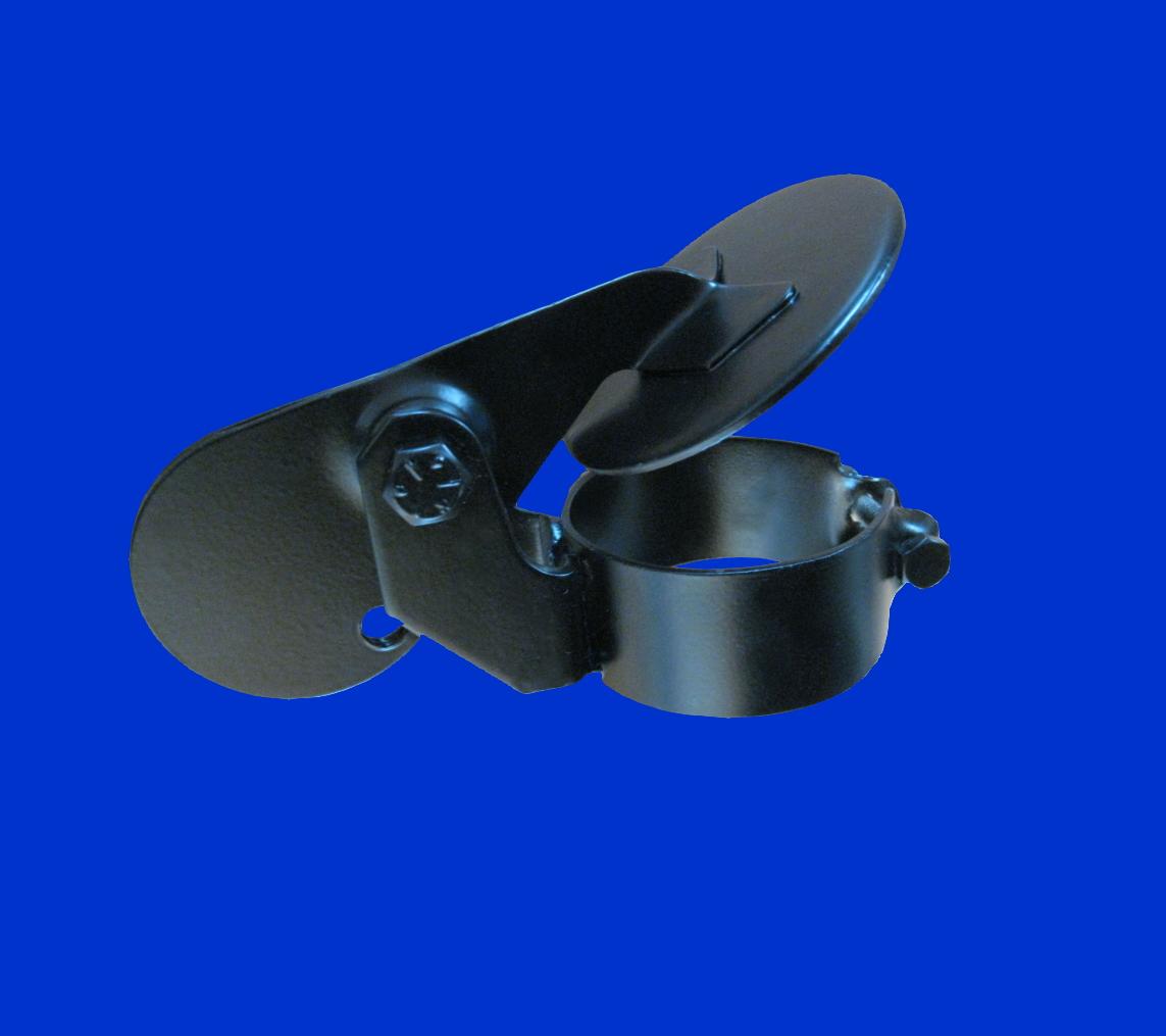 d 38mm 1 1 2 zoll schwarze auspuffklappe regenkappe. Black Bedroom Furniture Sets. Home Design Ideas
