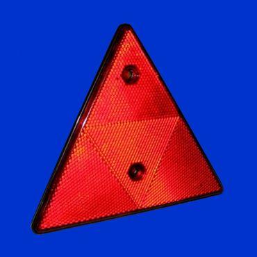 Reflektor dreieckig für Anhänger, Rückstrahler für Kipper, Güllefaß, Ballenwagen etc – Bild 1
