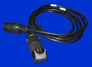 3,5m Verlängerungskabel, Kabel, Verbindungskabel mit 7 polig. Stecker und Buchse