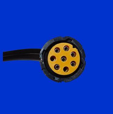 12V Verbindungskabel für Anhänger, 13 poliger Stecker, 5m Kabel li/re + 4m Kabel für Begrenzungsleuchte – Bild 2