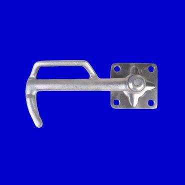 Kastenverschluß Gr 0 rechts 116mm Bügelverschluß Verschluß für Bordwand Anhänger – Bild 1