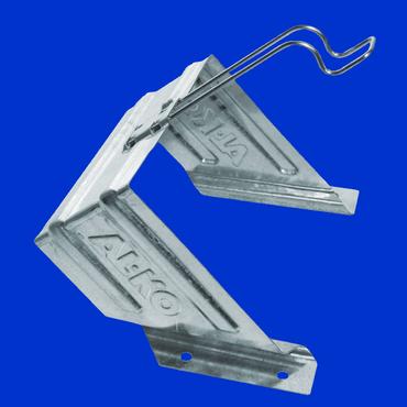 verzinkter Halter für Unterlegkeil UK 53 Hemmschuh, Vorlegekeil, Radkeil  – Bild 1