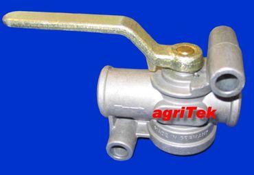 Absperrhahn für Druckluftbremse, Bremsleitung, Bremse, Druckluft M 22 x 1,5