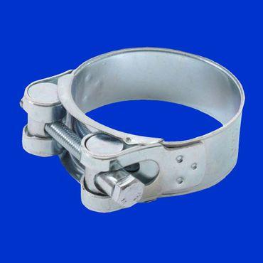 150mm Schlauchschelle Schelle Druckschlauch blau 6 Zoll Schlauchinnendurchmesser, Spannbereich 149 - 161mm