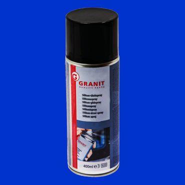 1,44€/100ml Granit Silikonspray Pflegt, schützt, schmiert und isoliert ohne zu fetten 400ml Dose