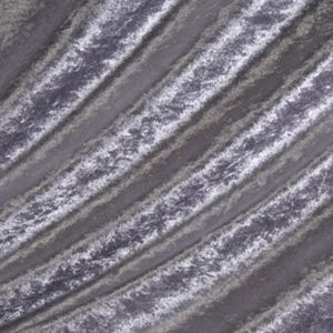 Silver Crushed Velvet fabric