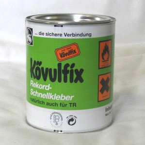 28,17 €/kg  Kövulfix Universal Contact-Adhesive for leather and rubber - 600 g tin