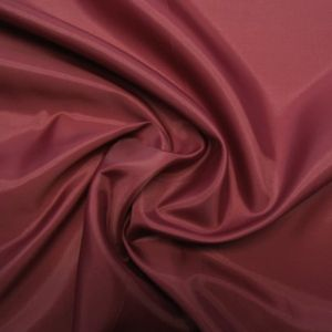 Acetate Taffeta Lining Colour: Burgundy