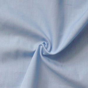 Cotton / Polyester Fabric like Batiste, 150cm wide, colour: Light - Blue