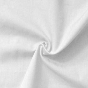 Cotton / Polyester Fabric like Batiste,  150cm wide, colour: White