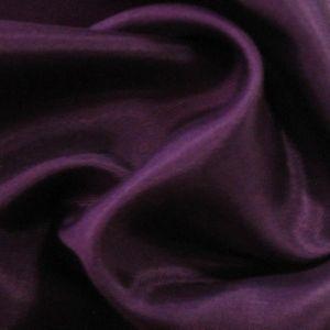 Tissus pour doublures en acétate taffetas couleur: Aubergine