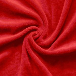 Nicky Velours Fabric colour: Red
