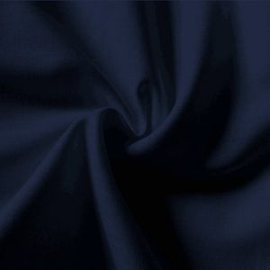Plain Navy-Blue 100% Cotton Fabric