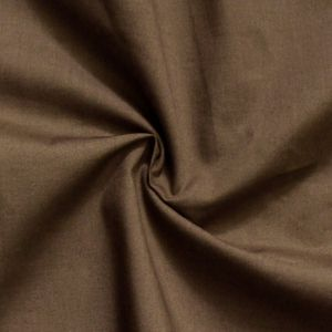 Cotton / Polyester Fabric like Batiste, 150cm wide, colour: Brown