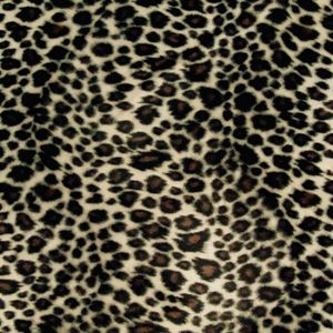 Super Luxurious Leopard Faux Fur