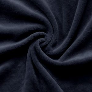 Nicky Velours Fabric colour: Navy Blue