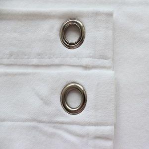 Backdrop ready made 5m x 3m - B1 Stage Molleton Fabric  Colour: White
