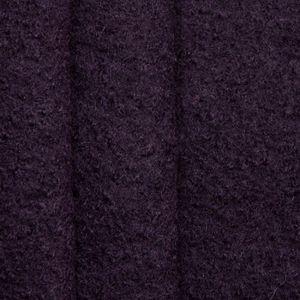 100 % Boiled Wool Fabric colour: Dark Purple