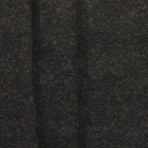 100 % Boiled Wool Fabric colour: Anthracite