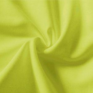 Tissu en coton uni largeur 145cm couleur: Vert Pâle