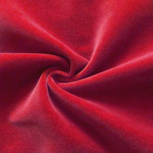 Stage Cotton Velvet flame retardant Art. Constantin colour: Red