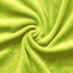 Nicky Velours Fabric colour: Linden Green