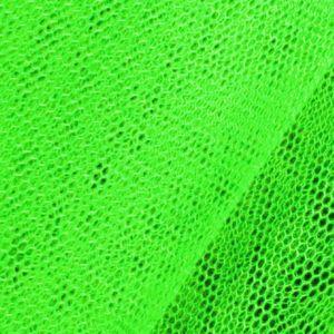 Tissu en Tulle Néon Vert