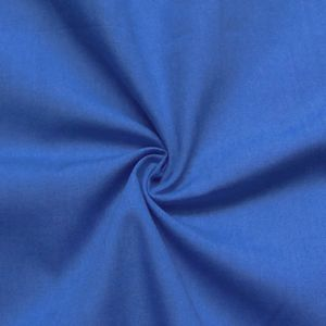 Cotton / Polyester Fabric like Batiste, 145cm wide colour: Royal Blue