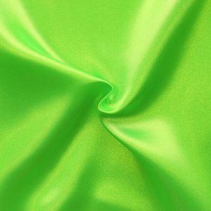 Polyester Satin Fabric colour: Poison Green