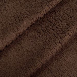 Wellness Fleece thick and super soft colour: Dark Brown