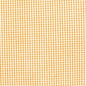 Cotton Shirt Quality Gingham mini colour Orange - White