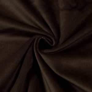 Stage Cotton Velvet flame retardant Art. Constantin colour: Dark Brown