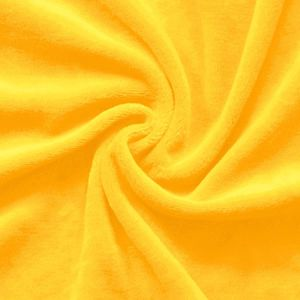 Nicky Velours Fabric colour: Sun Yellow