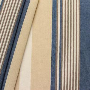 Awning fabric Art. Toldo ' Stripes ' Blue Beige White