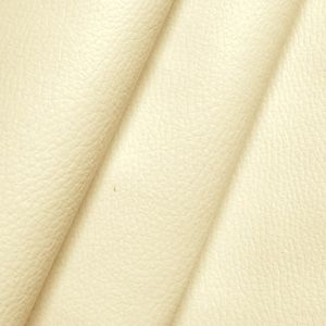 Upholstery Vinyl / Artificial Leather colour: Cream White with cowhide grain effect