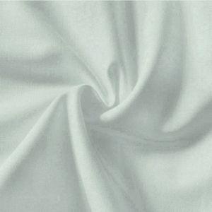 Plain Light Grey 100% Cotton Fabric