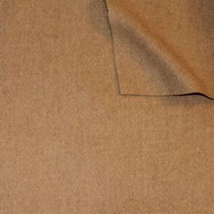 Wool Felt Fabric colour: Light Brown