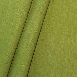 100% pure Linen Fabric, article: Barcelona colour: May Green