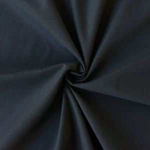 Cotton / Polyester Fabric like Batiste, 148cm wide colour: Night Blue