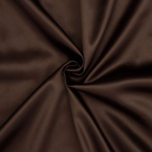 Stretch Satin Fabric 2 colour: Brown