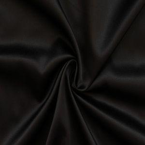 Stretch Satin Fabric 2 colour: Black