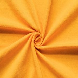 Cotton Stretch Jersey Fabric Basic 2 colour: Yellow